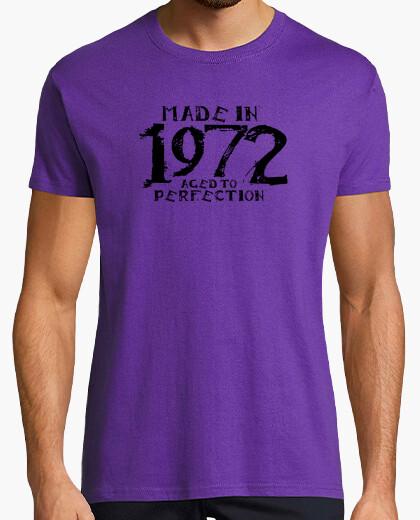 T-Shirt 1972 schwarz kiralynn