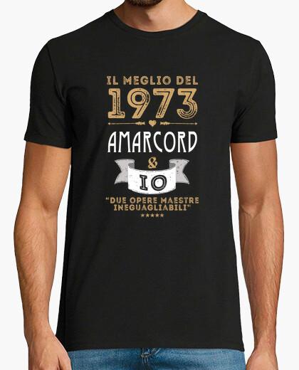 T-shirt 1973 amarcord e io italiano