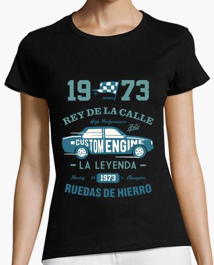Camiseta 1973 Rey De La Calle Coche Vintage