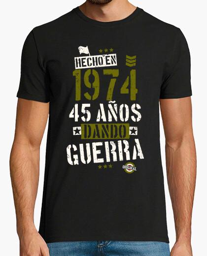 Camiseta 1974. 45 años dando guerra