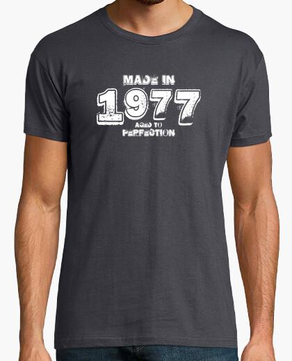Tee-shirt 1977 hardrock blanc