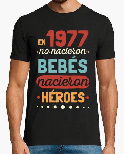 Camiseta 1977 Héroes, 42 años