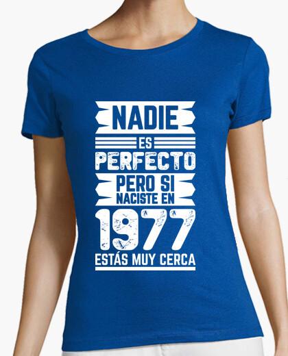Camiseta 1977, Nadie Es Perfecto, 42 años