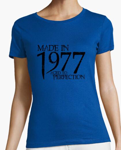Camiseta 1977 Northwood Negro
