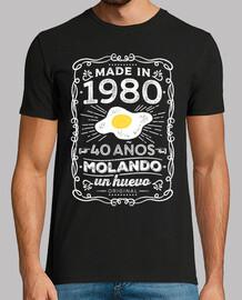 1980. 40 años molando un huevo