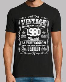 1980 Vintage 40 Cumpleaños 40 Años