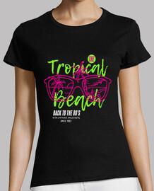 1980s retro vintage 1983 tropical t shirt gift idea birthday