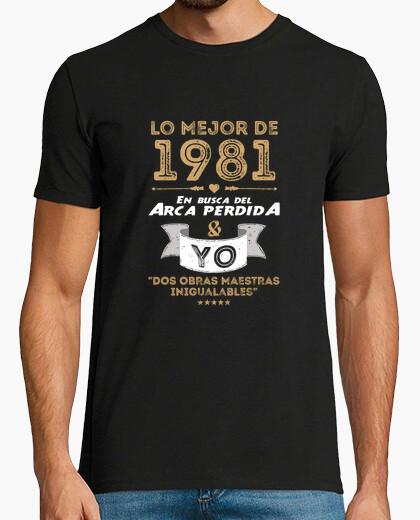 Tee-shirt 1981 arche perdue & i