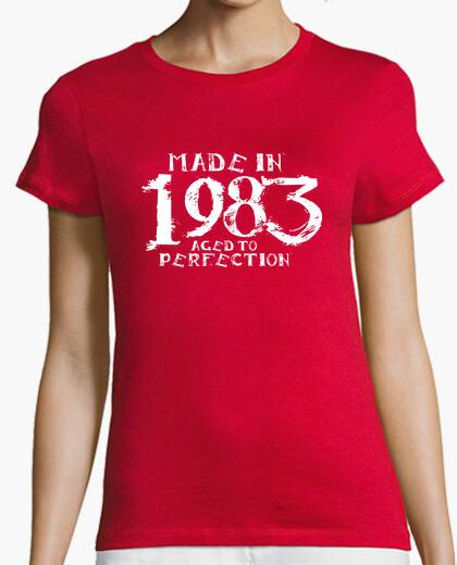 Camiseta 1983 KiraLynn Blanco