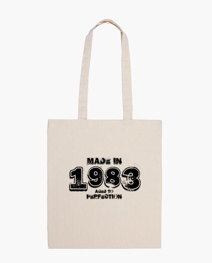 Borsa 1983 nero hardrock