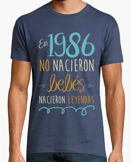 Tee-shirt 1986, 33 ans