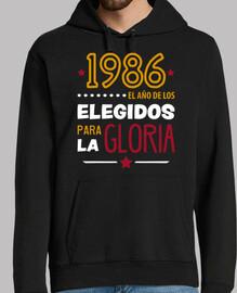 1986 elle protetta in per la gloria