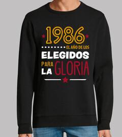 1986 élu pour la gloire