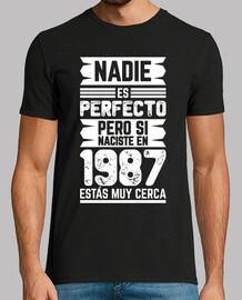 1987, nessuno è perfetto, 33 anni