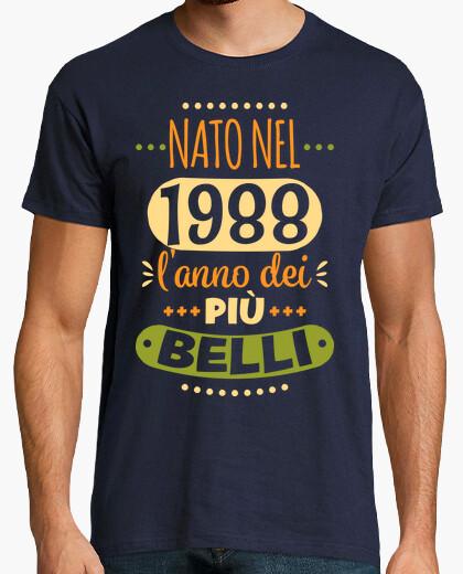 T-shirt 1988 l'anno dei più belli
