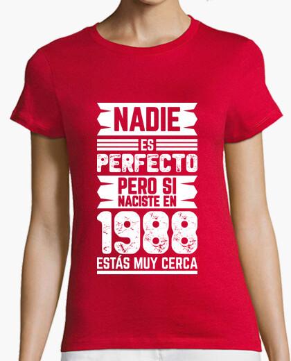 Camiseta 1988, Nadie Es Perfecto, 32 años