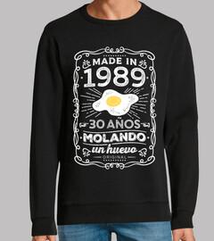 1989 30 ans mol and o un oeuf