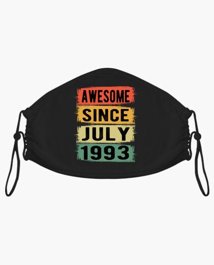 Mascarilla 1993 cumpleaños julio