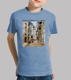 1994 ribadesella - shirt pour garçon manches courtes