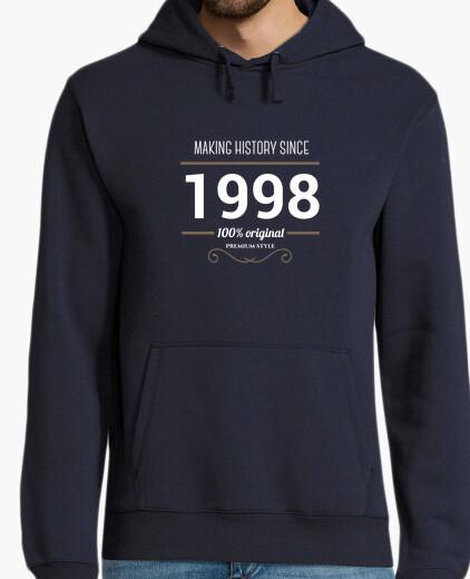 1998 anniversaire histoire sweat décision