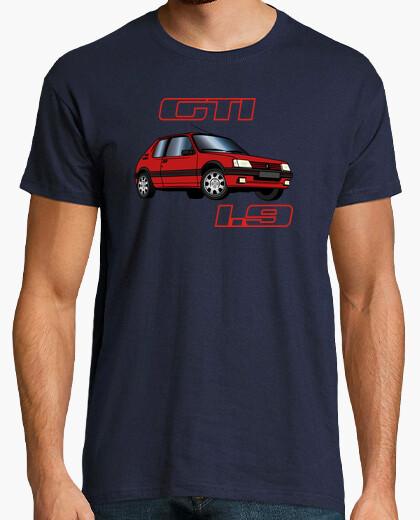 Camiseta 1.9 gti rojos 91-92-93 vallelunga