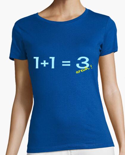 Camiseta 1 1 = 3