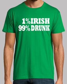1 irish 99 ° ubriaco. giorno patricks
