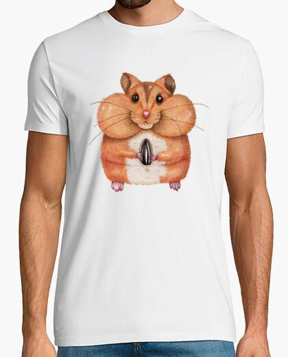 Camiseta 1.Sunflower Hamster