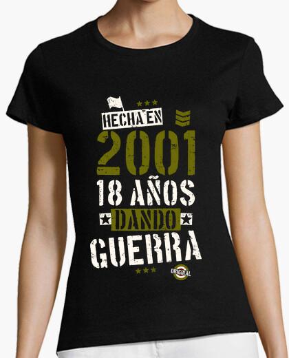Tee-shirt 2001 18 ans d and ou à la guerre