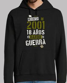 2001 18 ans d and ou à la guerre