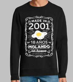 2001 18 ans mol and o un oeuf