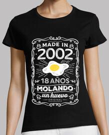 2002 18 years molando an egg