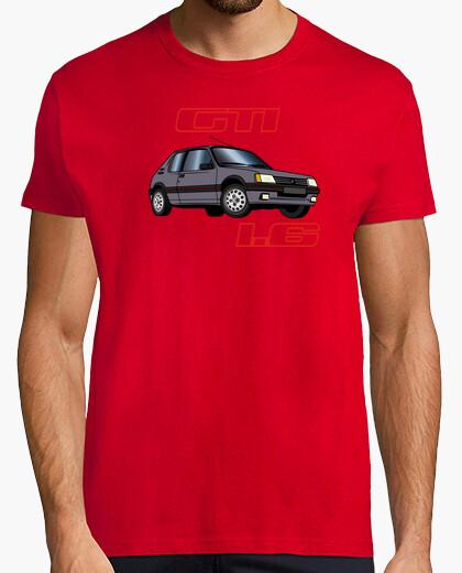 Camiseta 205 gti 1.6 90 magnum gris