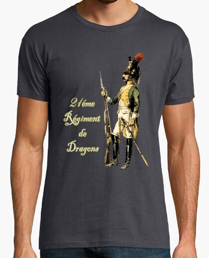 Camiseta 21 regimiento de Dragones