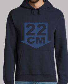 22 cm