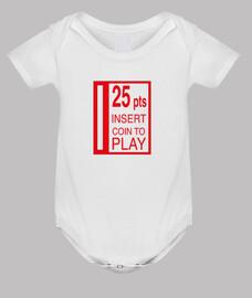 25 pesetas bebe