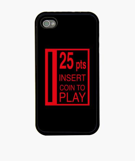 Coque iPhone 25 pesetas couvrent