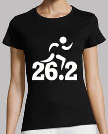 26.2 miles marathon