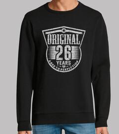 26 años originales envejecidos a la per