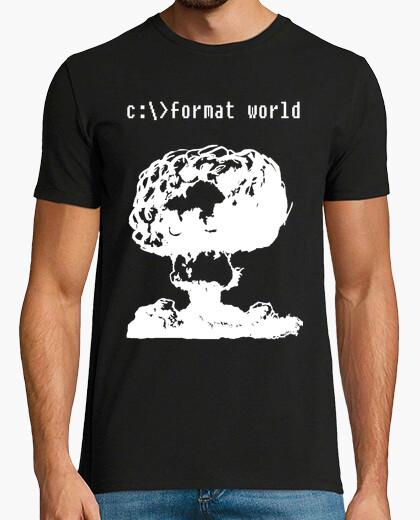 Camiseta 27 format world