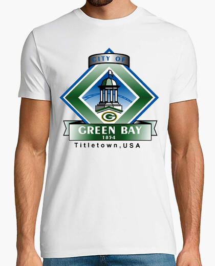 Camiseta 283 - green bay, wisconsin
