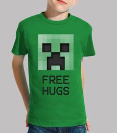 2 small creeper free hugs