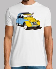 2cv milky savoy t-shirts