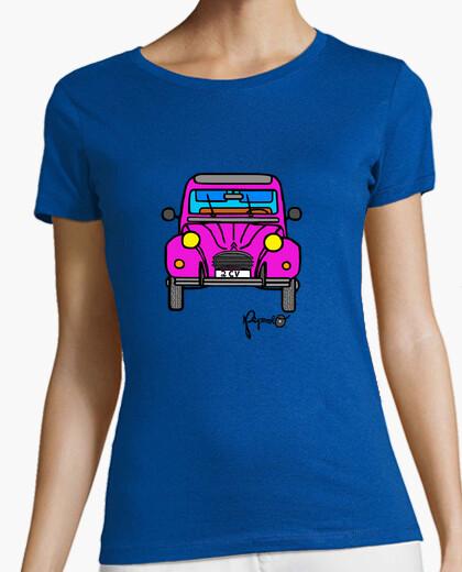 Camiseta 2CV ROSA