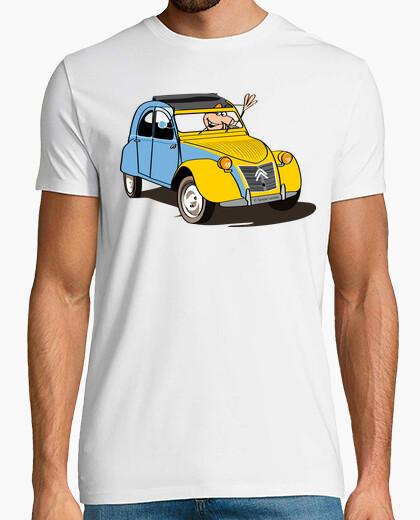 2cv Savoie lactée tee-shirts