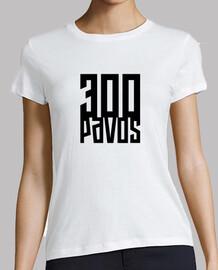 300 pavos - Mujer Blanco guapo