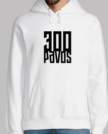 300 pavos - Sudadera Blanca guapa