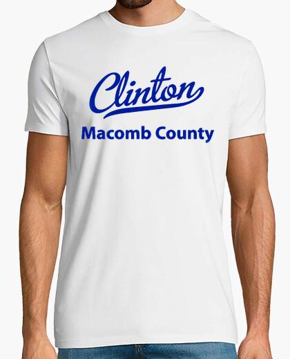 Camiseta 306 - clinton, michigan