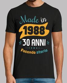 30 anni f ace ndo storia