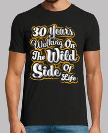 30 ans côté sauvage